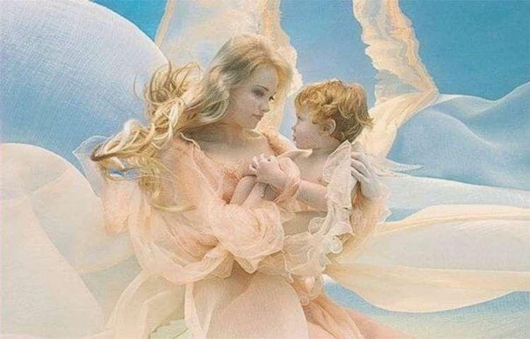 Молитви матері про сина й дочку.